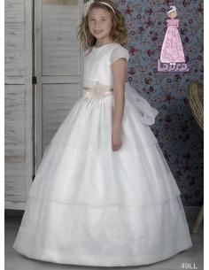 Vestido de comunión Laura  49LL