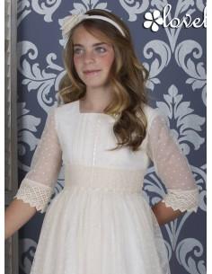 Vestido de comunión Lovely Day F084