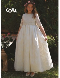 Vestido de comunión Cora 031105