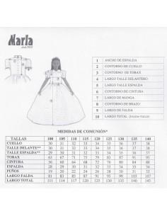 Vestido de comunión Marla J253